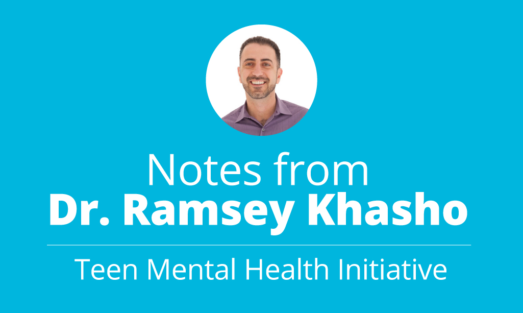 Notes from Dr. Ramsey Khasho
