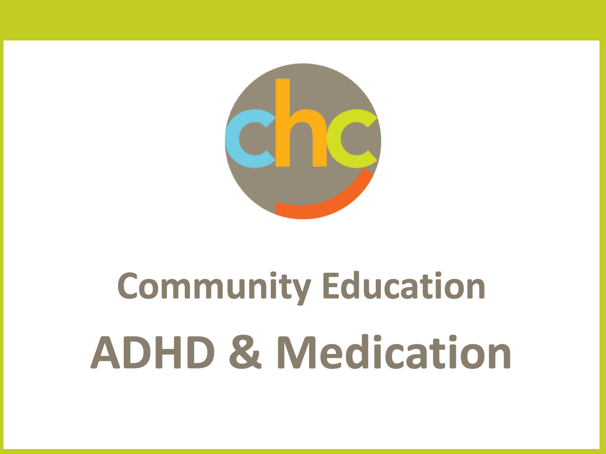 ADHD and Medication396