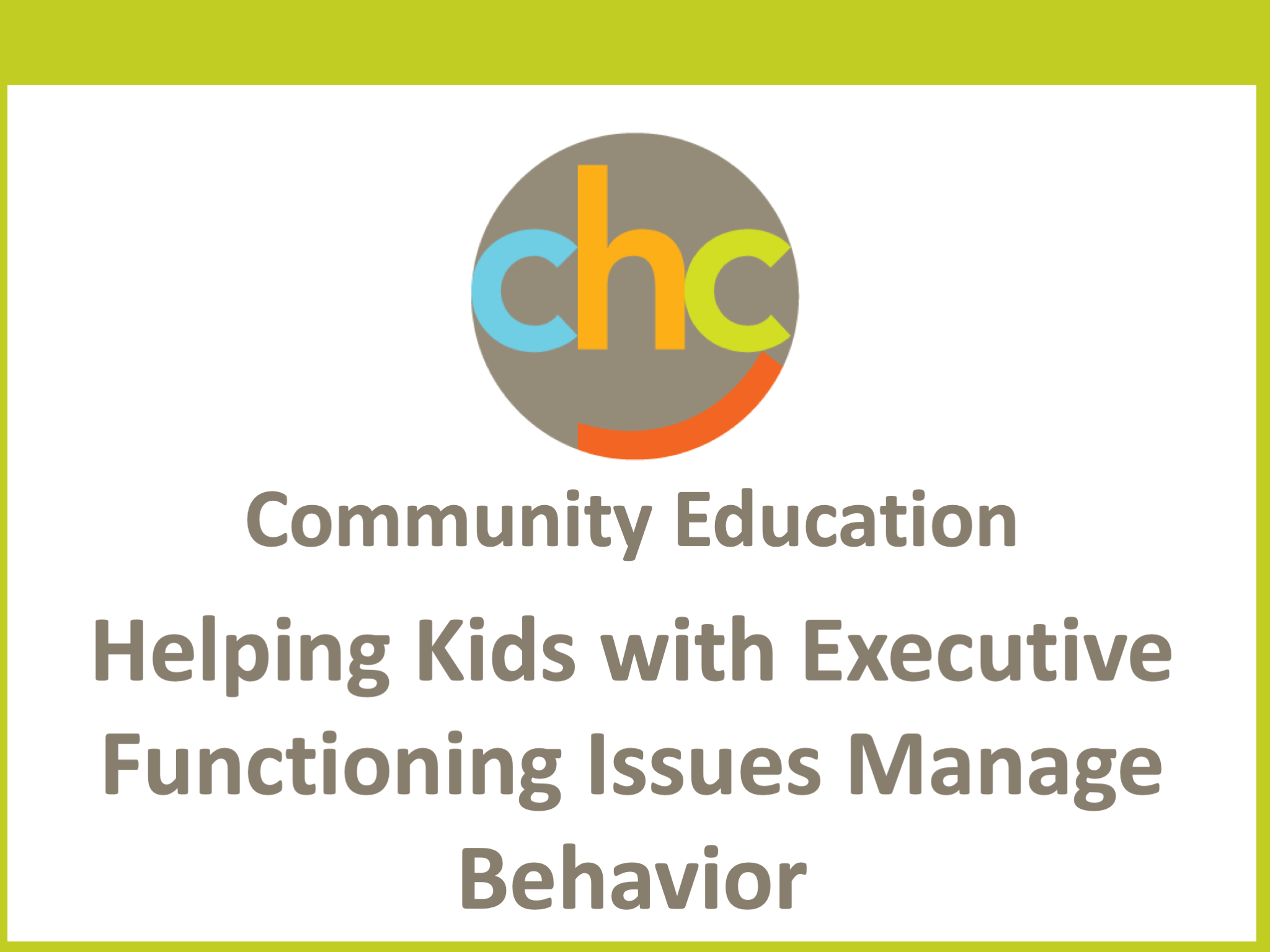 Helping Kids with Executive Functioning Issues Manage Behavior330