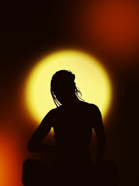 meditate silhouette-67195_640
