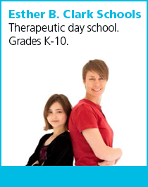 Esther B. Clark School. Therapeutic day school for Grades K-10.